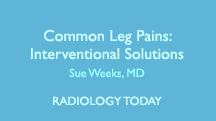 Common Leg Pains: Interventional Solutions