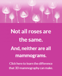 Don't let pink be pointless Learn about 3D mammograms!