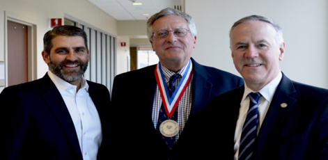 Dr. Robert Schaaf Awarded Silver Medal for Distinguished and Extraordinary Service